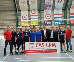 CAS CRM / ZVH Heren 1 volleybal team
