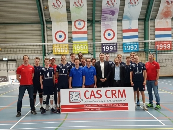 CAS CRM, CAS genesisWorld CRM oplossing en volleybalteam
